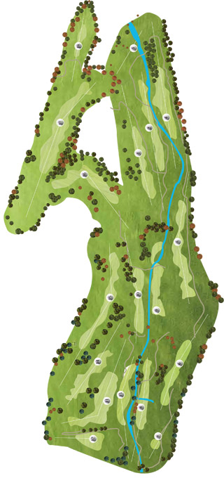 Course Map Vidago Palace Golf