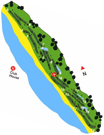 Course Map Estela Golf Club