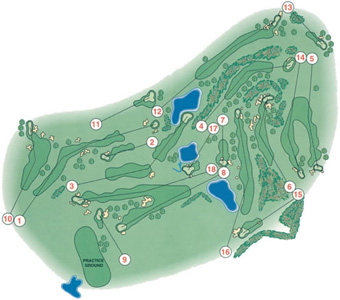 Course Map Amarante